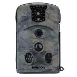 Wildkamera kaufen - Die KKmoon 12MP 1080P 120 ° Weitwinkel HD Wildkamera 850nm IR IP54 2.4 Zoll Hunting Kamera LED Schirm Jagd Kamera mit 8 GB SD Karte