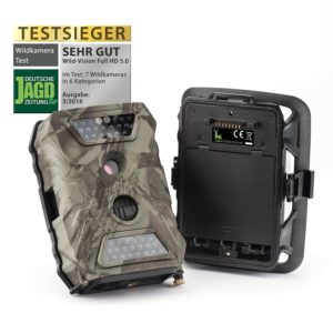 Wild Überwachungskamera Premium Pack Wild-Vision Full HD 5.0