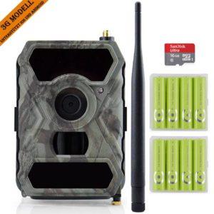 HUNTOOLER 3G Wildkamera mit Bewegungsmelde