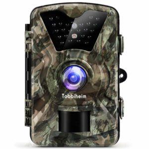 Tobbiheim Wildkamera 12MP 1080P Full HD